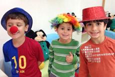 פורים בגני הילדים של תל